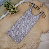 Стильная удлиненная майка топ платье от NEXT рр 10 наш 44