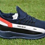 Детские кроссовки Nike Air Blue найк темно синие р31-36