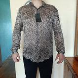 Zara рубашка мужская XL Португалия оригинал