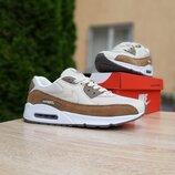 Кроссовки мужские Nike Air Max 90 бежевые