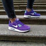 Женские кроссовки Nike Air Max 90 Violet | 37-41.