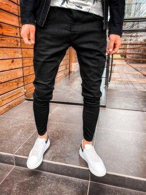 2020. Варианты. Европейское качество. Мужские стильные джинсы рваные зауженные 2Y Premium 192 2C7