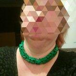 Бусы,ожерелье металлические ZARA.