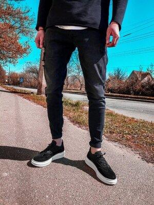 2020. Варианты. Европейское качество. Мужские стильные джинсы рваные зауженные 2Y Premium ph 17858