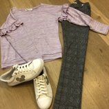 свитер H&M, джегинсы H&M,кроссовки H&M