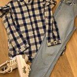 рубашка Join Life,джинсы H&M, кроссовки H&M