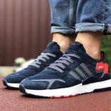 Кроссовки мужские Adidas Nite Jogger Boost, темно синий