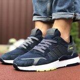 Кроссовки мужские Adidas Nite Jogger Boost, темно-синие