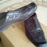 Туфли с перфорацией для подростка