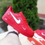 Кроссовки мужские Nike Air Force 1 Mid LV8 , красные