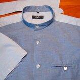 Шикарная комбинированная рубашка - M - S