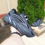 Кроссовки мужские Adidas yeezy 700 v2 темно серые