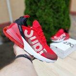 Кроссовки мужские Nike Air Max 270 Supreme красные