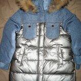 Зимняя куртка пальто анернуо anernuo для девочки