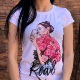 Женские стильные футболки со стразами 11 моделей