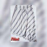 Новая лтняная юбка на запАх батал ассиметричная на резинке 4XL 58 60