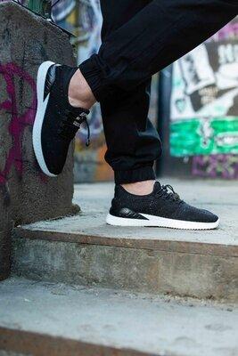 Мужские кроссовки летние чоловічі кросівки літні черные чорні