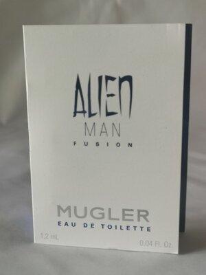 Thierry Mugler Alien Man Fusion Eau de toilette Туалетная Вода , 1,2 ml