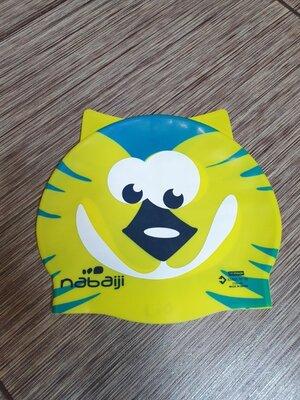 Силиконовая шапочка для плавания детская nabaiji , оригинал