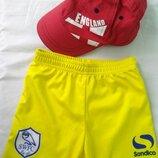 Комплект фирменный кепка и шорты мальчику 1-2 года разм. 80-92