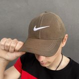Кепка Nike хаки Белый логотип