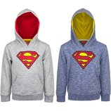 Стильная кофта, худи с принтом супермена на мальчика, sun city / superman