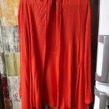 Кардиган ярко-оранжевый 48-50