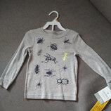 Новый реглан верх от пижамы Carter's, мальчику и девочке, размер 3Т