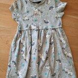 Платье Единороги George 2-3 года, 92-98 см.