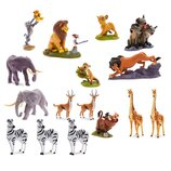 Disney Store Игровой набор мега с фигурками Король лев 2019 The Lion King Mega Figurine Set