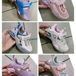 Кроссовки кеды кросы для девочек девочки розовые розовый сеточка сетка летние лето белые