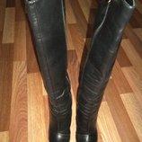 Зимние кожаные сапоги Lookie