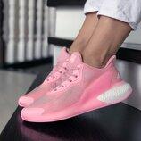 Женские кроссовки 9381 Adidas Alphaboost