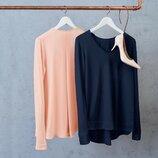 Воздушный и мягкий пуловер-блуза, размеры наши 50-54 44/46 евро