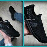 Мужские весенние летние туфли кроссовки чоловічі літні кросівки туфлі