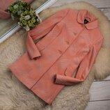 Качественый стильный фактурный плащ пальто от ATM рр 8 наш 42