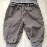 Новые вельветовые штаны брюки friends размер 68 4-6 мес