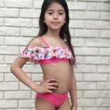 Низкая цена- супер качество Стильные купальники для девочки Польша