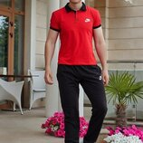 Мужской спортивный костюм Nike Найк BE-3766 в расцветках.