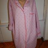 халат-рубашка батистовый р14 на невысокий рост