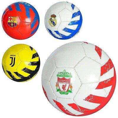 Мяч футбольный EV3234 - 4вида, Пвх 1.8мм, 300-320грамм, 5