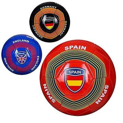 Мяч футбольный EV3283 - 3вида, Пвх, 300-320грамм, 5