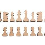 Шахматы из фанеры - заготовки под магнит, настенные шахматы, Харьков, доставка