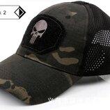 Бейсболка Punisher Skull камуфляж
