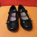 Туфли школьные р. 34 2 Е Clarks, Камбоджа, натур. кожа.