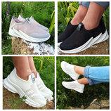 Кроссовки слипоны кеды мокасины сетка черные серые белые shark adidas