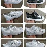 Кеды кроссовки кросы женские белые нарядные черные летние