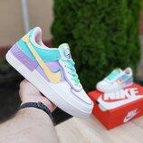 Кроссовки женские Nike Air Force 1, разноцвет