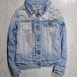 Куртка джинсовка 2-3 некст