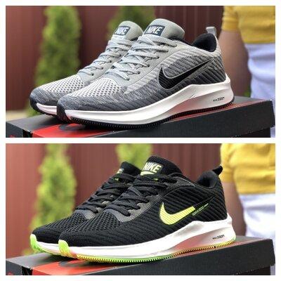 Кроссовки Nike Flyknite Lunar 3 черные и светло-серые